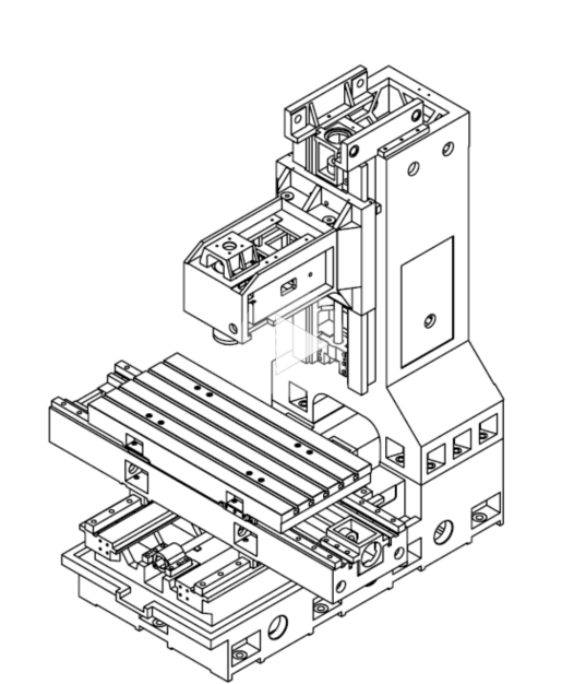 VMC850加工中心光机